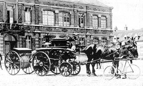 En 1903, un incendie détruisait en partie l'usine Gaillard