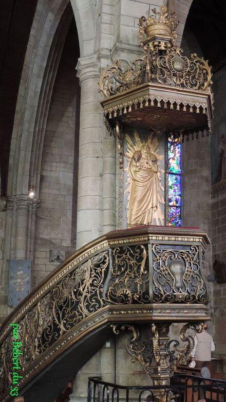 la chaire de la Basilique de Josselin  (dept 56) -3