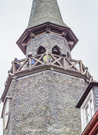 Bretagne : Dinan,  la Tour de l'Horloge