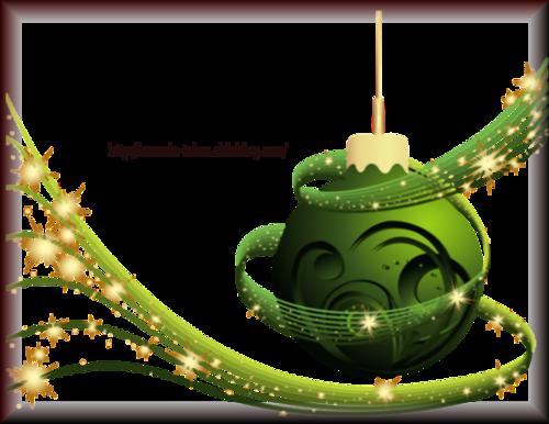Tube Boule de Noël 2960