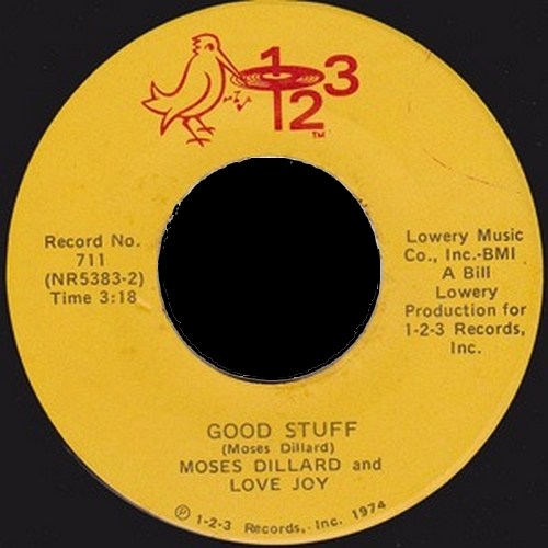 1974 : Single SP 1-2-3 Records 711 [ US ]