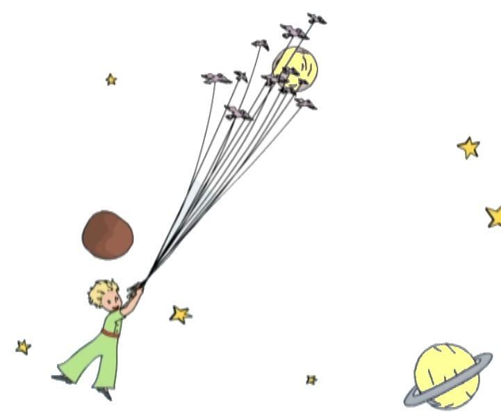 Extrêmement Projet 2014- 2015: Le Petit Prince - PETITE LUCIOLE FY15