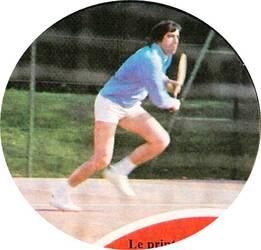 Le court de tennis.
