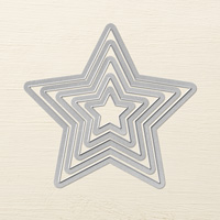 Stars Framelits Dies by Stampin' Up!