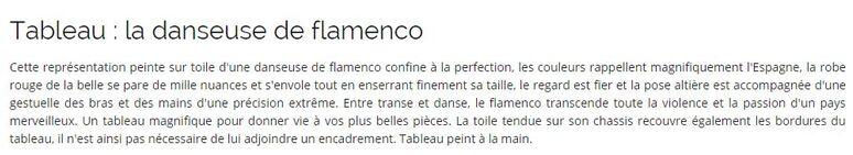 ** LE FLAMENCO**