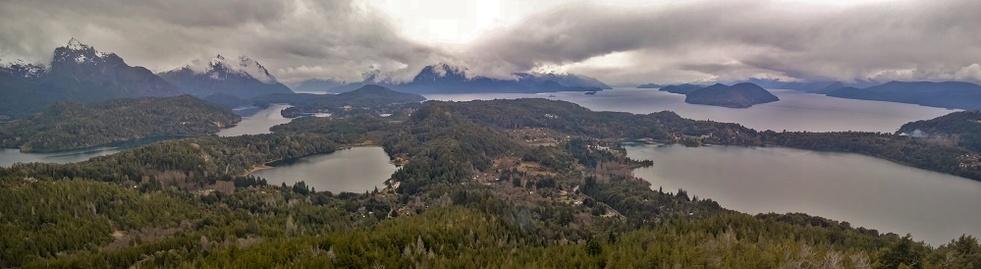 Vue du cerro Campanario
