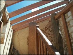La montée d'escalier
