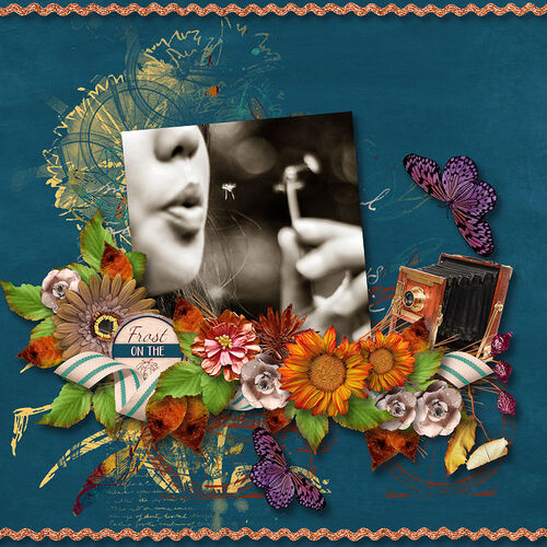 Autumn Joys by dentelle scrap