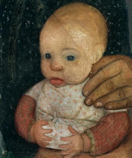 Paula Modersohn-Becker, Enfant