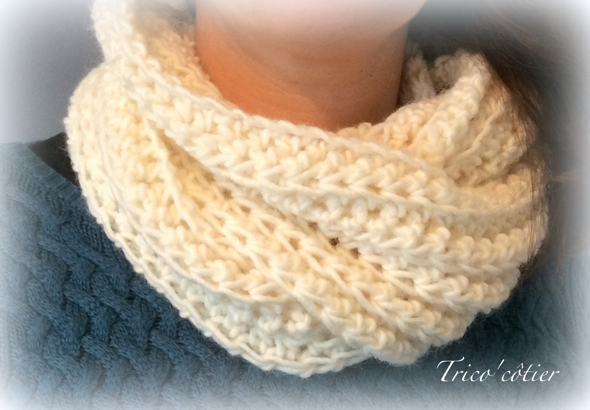 modele snood simple