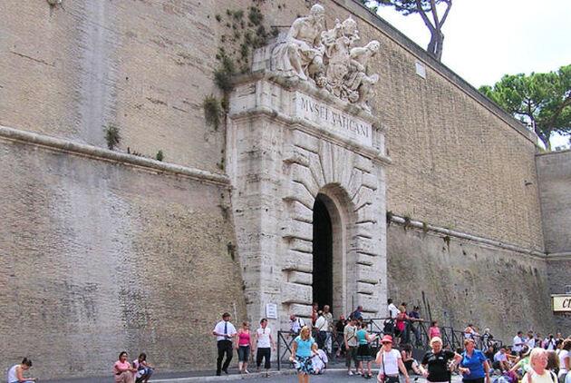 Les portes du Vatican