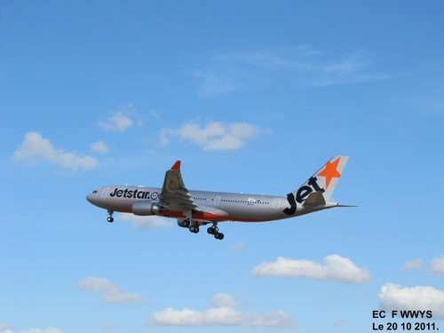 Airbus A 330 F WWYM à Blagnac Le 20 10 2011 à 16h08.