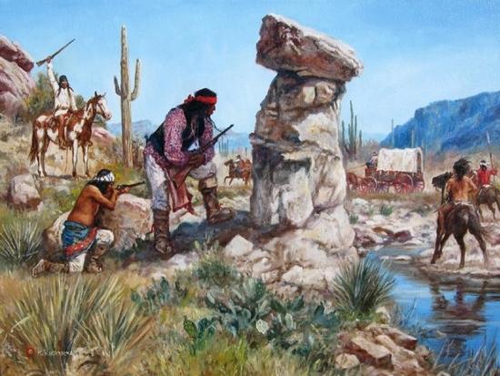 Apache Holdup