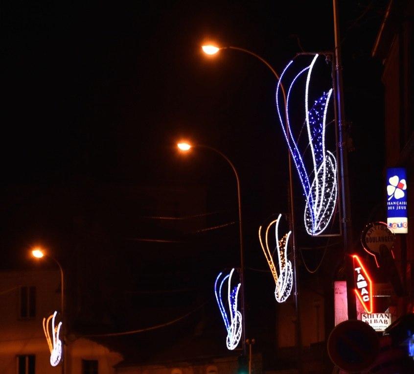 Illuminations Route de Montcenis