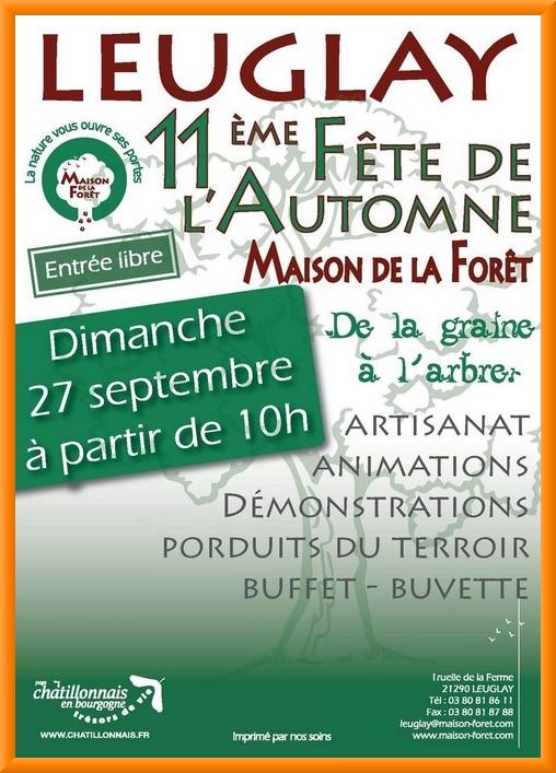 La fête de l'Automne de la Maison de la Forêt aura lieu dimanche 27 septembre prochain