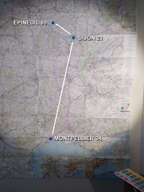 Carte de France 2