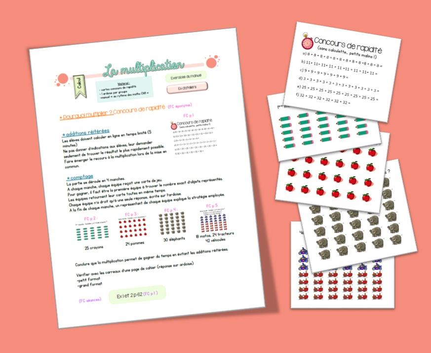 La Multiplication Cm1 Anne Isabelle