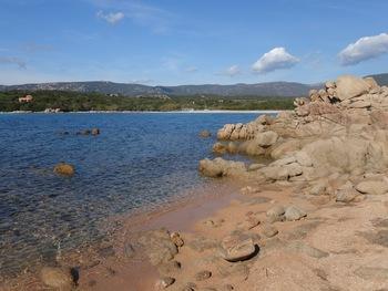 Malgré une petite brise, l'eau était très bonne ( 20-21 °C)