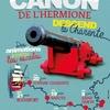 Le dernier canon de l\'Hermione à Tonnay-Charente