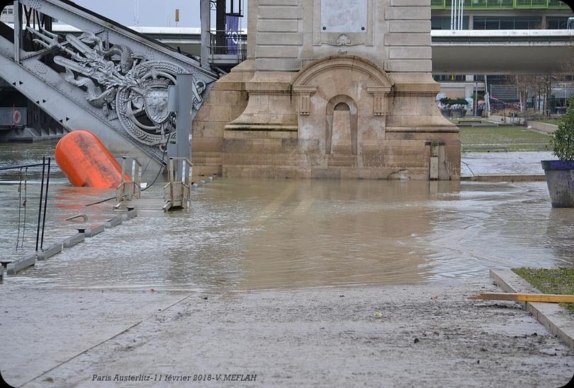 Paris Austerlitz : Une décrue très lente ...