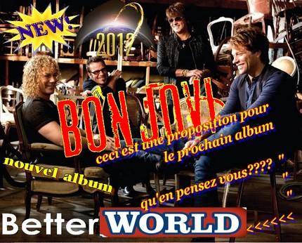 proposez votre titres du prochain album pour 2012 ou 2013