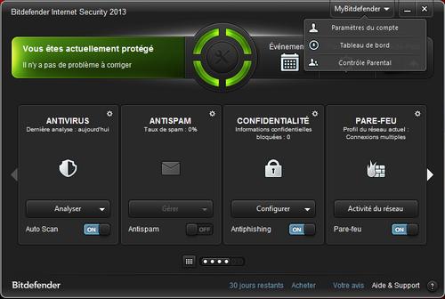 Concours: 1 licence de un an de Bitdefender Internet Security 2013 à gagner