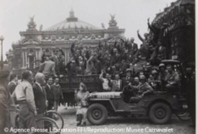 Paris commémore les 70 ans de sa libération