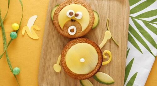 Gâteau à la mangue Kiri