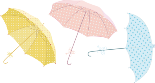 Tubes parapluies en png