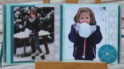 Projet d'atelier : mini albums 10 x 10 Hiver ou Noël