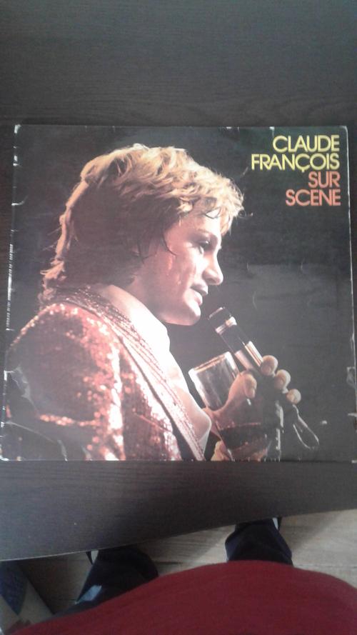 Claude François mes trouvailles en brocante