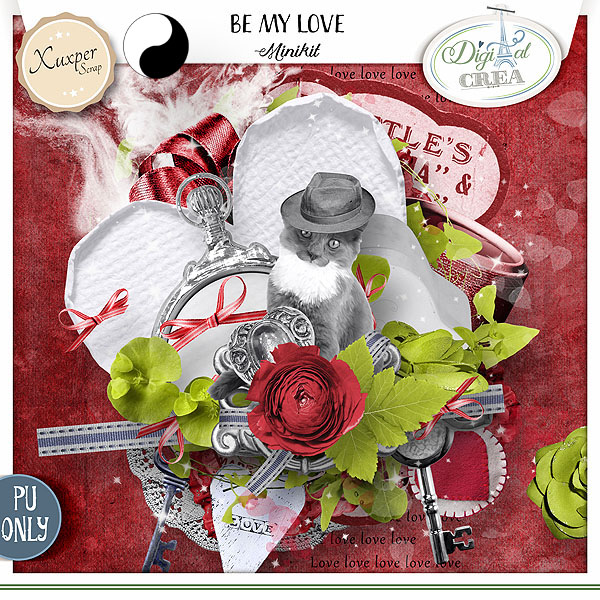 BE MY LOVE by Xuxper Designs