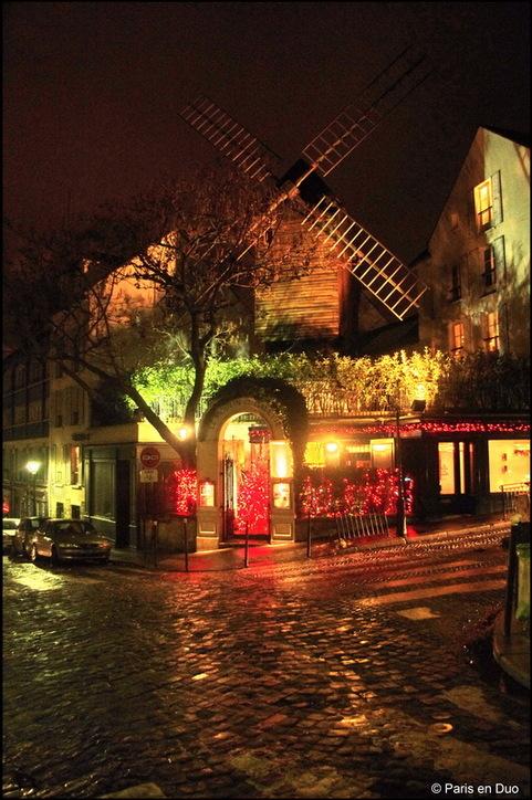 Montmartre et le Moulin de La Galette