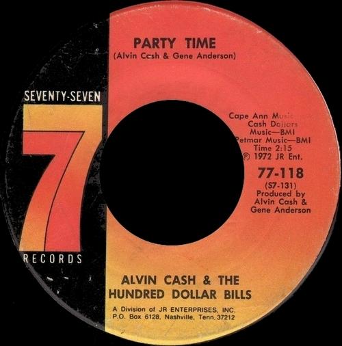 1972 : Single Seventy Seven Records 77-118 [ US ]