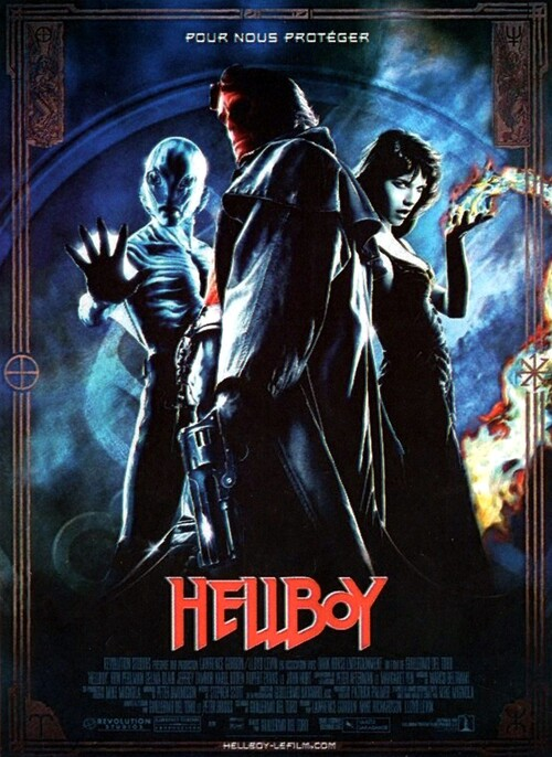HELLBOY BOX OFFICE FRANCE 2004