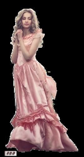 Tube femme debout