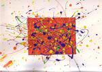 Deux ateliers peinture sur les traits verticaux