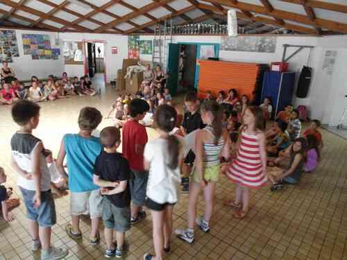 Visite de Mme Le Maire à l'école du Château - Exposé des commissions