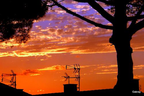 Barcarès: soleil couchant!