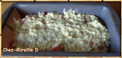 Petit Cake aux Tomates, Mozzarella et Basilic
