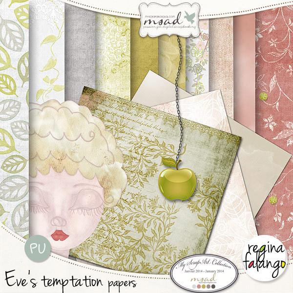 Eve's temptation by Reginafalango