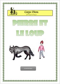 Pierre et le loup et Gérard Philippe (carpe diem lapbook)