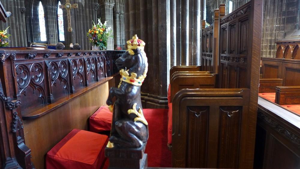 La cathédrale Saint-Mungo de Glasgow (1/2)...