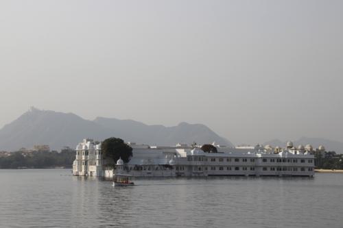 Le lac Pichola à Udaipur