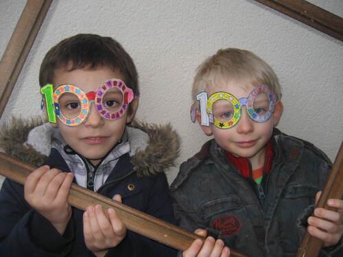 Les GS-CP et les lunettes des 100 jours!