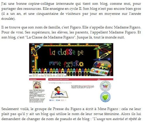 Figaro contre Figaro