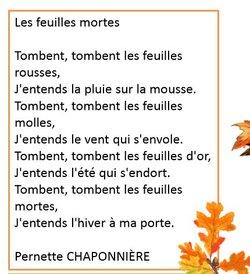 Poésies de l'automne