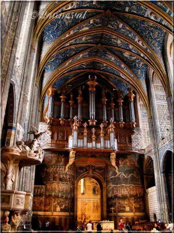 La Cathédrale Sainte-Cécile Grand Orgue et  Jugement Dernier