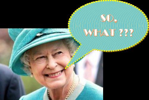 Lundi matin, la Reine, Philip et les p'tits Princes sont venus....