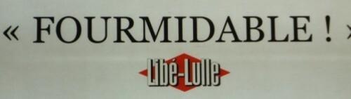 affiche cinéma Minuscule jeu de mot Libé-Lulle